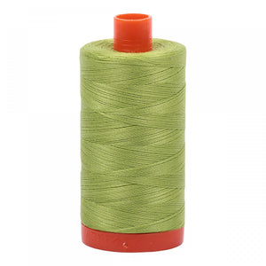 #threadAurifilKnotty Quiltershades of green - aurifil- Mako 50wt 1422ydsA1050-1231spring green1# - Knotty Quilter