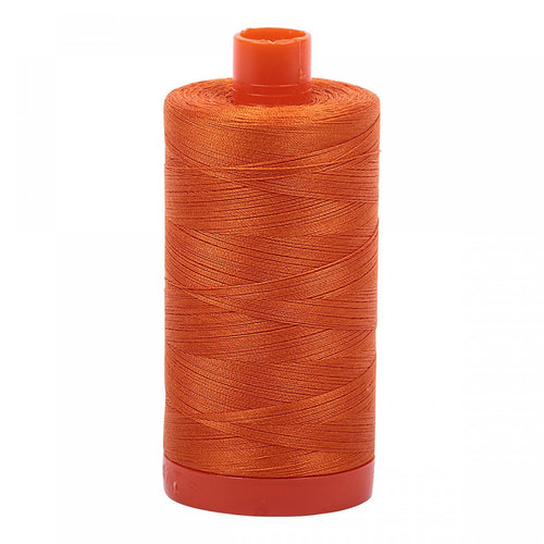 #threadAurifilKnotty Quiltershades of orange - aurifil- Mako 50wt 1422ydsA1050-2150pumpkin1# - Knotty Quilter
