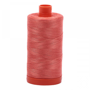 #threadAurifilKnotty Quiltershades of peaches and pinks - aurifil- Mako 50wt 1422ydsA1050-2225salmon9# - Knotty Quilter