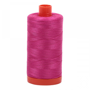 #threadAurifilKnotty Quiltershades of peaches and pinks - aurifil- Mako 50wt 1422ydsA1050-4020fuschia1# - Knotty Quilter