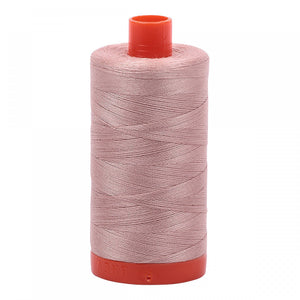 #threadAurifilKnotty Quiltershades of peaches and pinks - aurifil- Mako 50wt 1422ydsA1050-2375antique blush8# - Knotty Quilter
