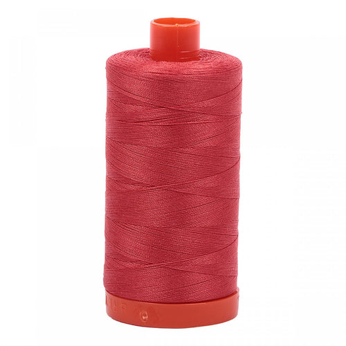 #threadAurifilKnotty Quiltershades of red - aurifil- Mako 50wt 1422ydsA1050-2255dark red orange1# - Knotty Quilter