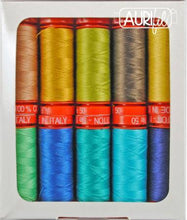 Load image into Gallery viewer, #threadAurifilKnotty QuilterThe Peacock Thread Collection 50wt 10 Small SpoolsSN50PC10Default Title2# - Knotty Quilter