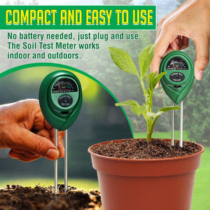 3 in 1 Soil Test Meter