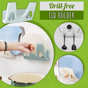 Drill-free Lid Holder