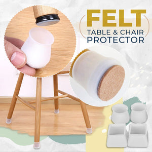 Felt Table and Chair Protector (10/20pc)