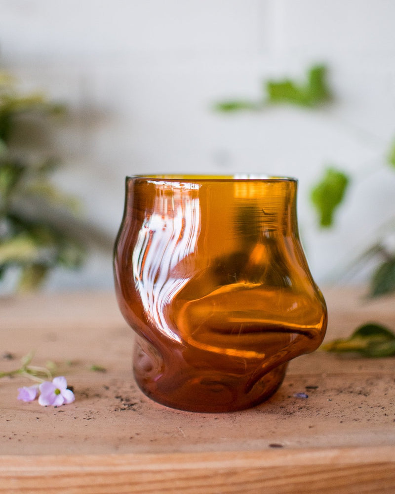 Amber Crushed Cup - Goodbeast - Vessels - STUDIO FOLIAGE
