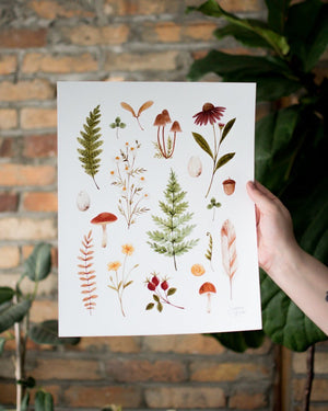 Load image into Gallery viewer, Autumn Herbarium - Joannie Houle - Art - STUDIO FOLIAGE