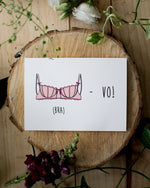 (Bra)-vo - Fleur maison - Greeting Cards - STUDIO FOLIAGE