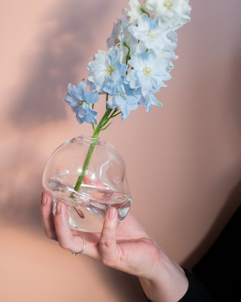 Clear Softie Bud Vase - Goodbeast - Vessels - STUDIO FOLIAGE