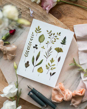 Feuillage - Joannie Houle - Greeting Cards - STUDIO FOLIAGE