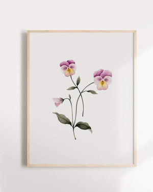 Floral Thought - Poster - Marie-Lise - Art - STUDIO FOLIAGE