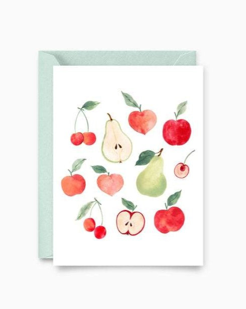 Fruit Pattern - Marie-Lise - Greeting Cards - STUDIO FOLIAGE