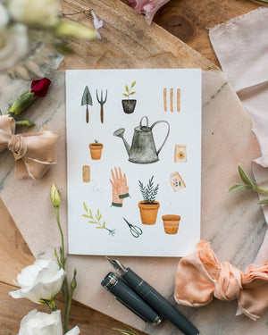 Jardinage - Joannie Houle - Greeting Cards - STUDIO FOLIAGE