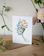 Pastel Bouquet - Joannie Houle - Greeting Cards - STUDIO FOLIAGE
