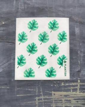 Swedish Dish Cloth - Swiss Cheese - Monstera - Plantish - Miscellaneous - STUDIO FOLIAGE