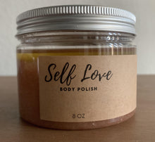 Load image into Gallery viewer, Self Love Body Polish, 8 oz - Body Love Self Care Shop