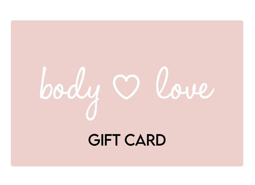 Body Love Self Care Shop Gift Card - Body Love Self Care Shop