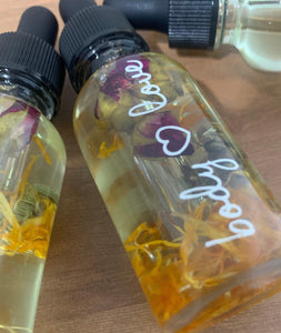 Sacred Yoni oil, 1 oz., Sacral Chakra Balance, Svadhisthana,  All Natural ingredients, PRE-Order Ships 2/1/2021 - Body Love Self Care Shop