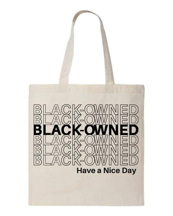 Black Owned Tote Bag, BLM Matter, Black Owned Business - Body Love Self Care Shop