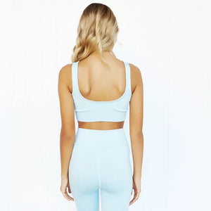 2 Piece Cali Dreamin' Sports Bra and Leggings Set