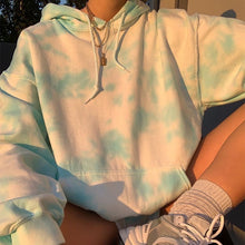 Load image into Gallery viewer, Oversized Tie Dye Hoodie