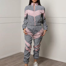 Load image into Gallery viewer, 2 Piece Reflective Tracksuit