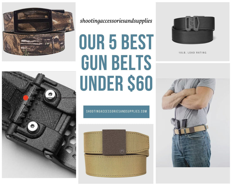 Our 5 best gun belts under $60