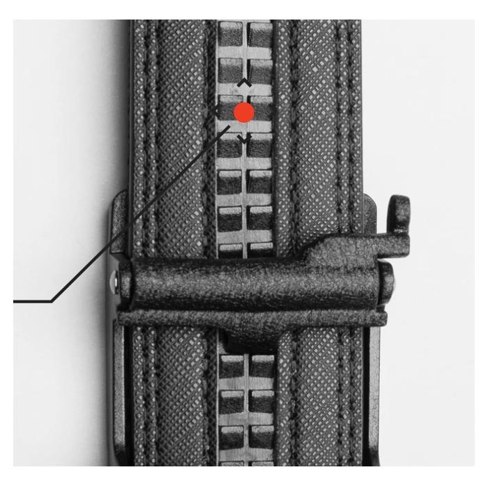Kore Essentials Black Leather Gun Belt X5 Black With FREE Closet Hanger - Shooting Accessories & Supplies
