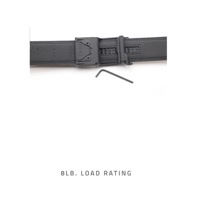 Kore Essentials Tactical Gun Belt X6 Tan Gunmetal With FREE Closet Hanger - Shooting Accessories & Supplies