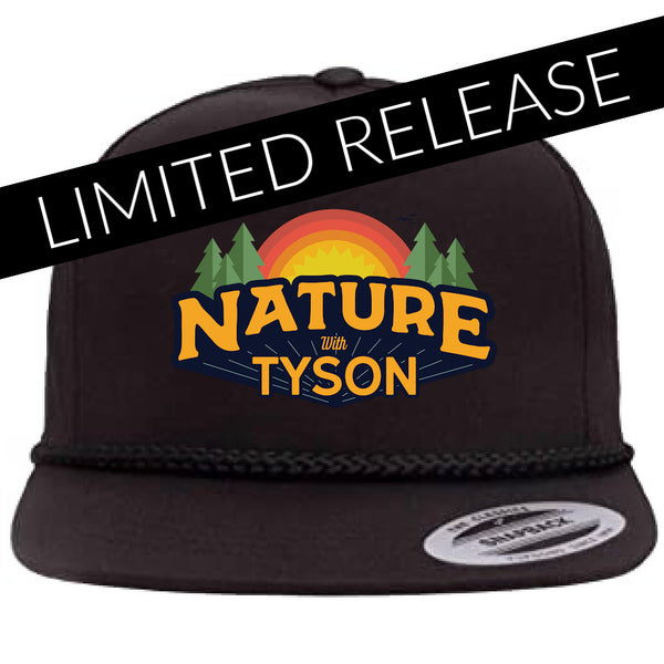 Hat Black - SIGNED by Tyson Apostol (LIMITED QUANTITY AVAILABLE)