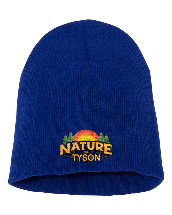 Beanie Royal Blue - Nature with Tyson