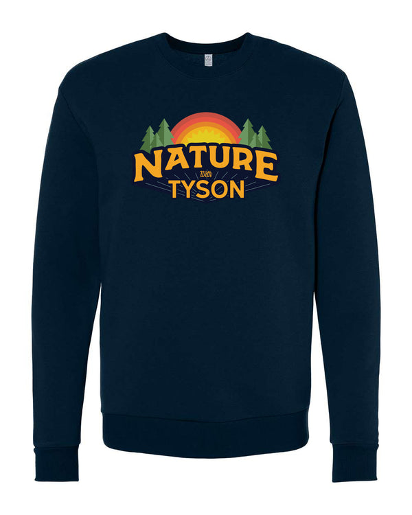 Nature with Tyson - Crewneck Navy