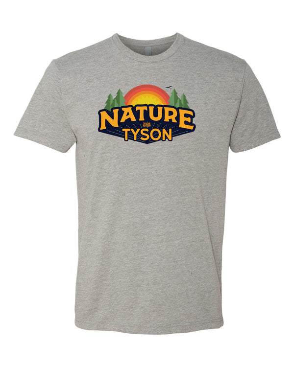 Nature with Tyson - Heather Gray Shirt