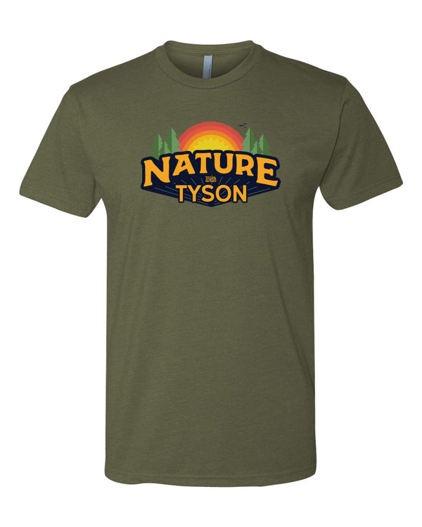 Nature with Tyson - Military Green Shirt