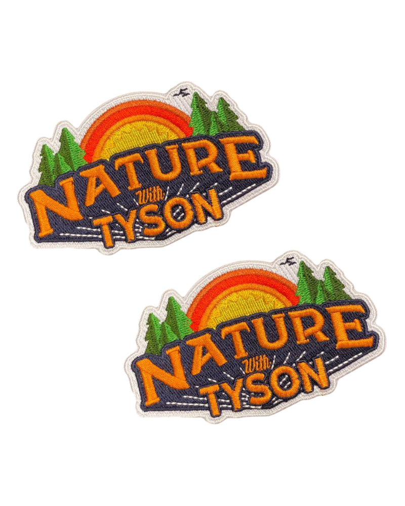 2-Pack of Nature with Tyson Patches