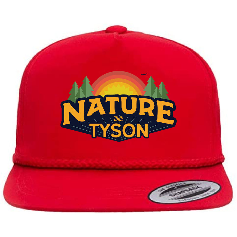 Hat Red - Nature with Tyson