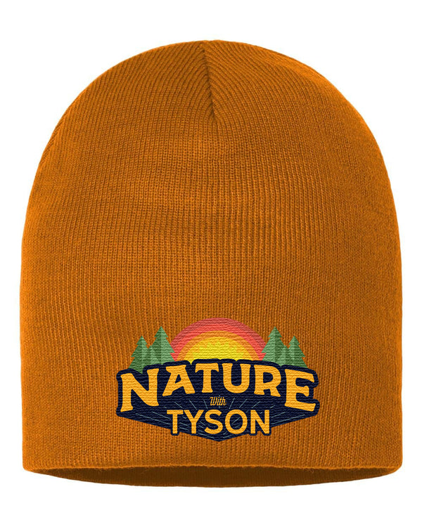 Beanie Caramel - Nature with Tyson