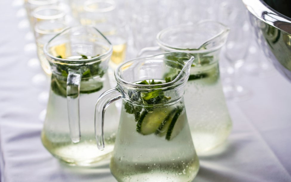 Fresh Cucumber Mint Detox Water for Weight Loss