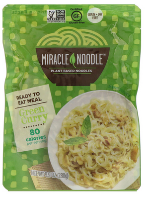 Miracle Noodle Ready-to-Eat Green Curry - Low Carb, Low Calories