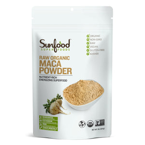 Sunfood Super Foods Maca Powder, 1lb, Organic, Raw