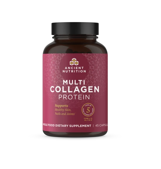 Ancient Nutrition Multi Collagen Protein, 45 Capsules