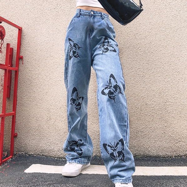 Butterfly Stencil Trousers