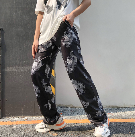 Mosaic Chinese Dragon Pants