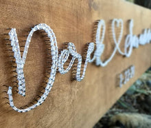 Load image into Gallery viewer, String Art Welcome Sign