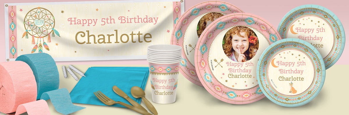 Sweetest Dreams Personalized Deluxe Party Pack For 8