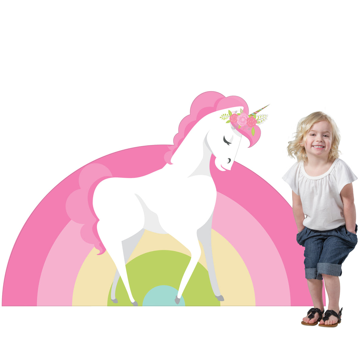 3 ft. 1 in. Unicorn Standee