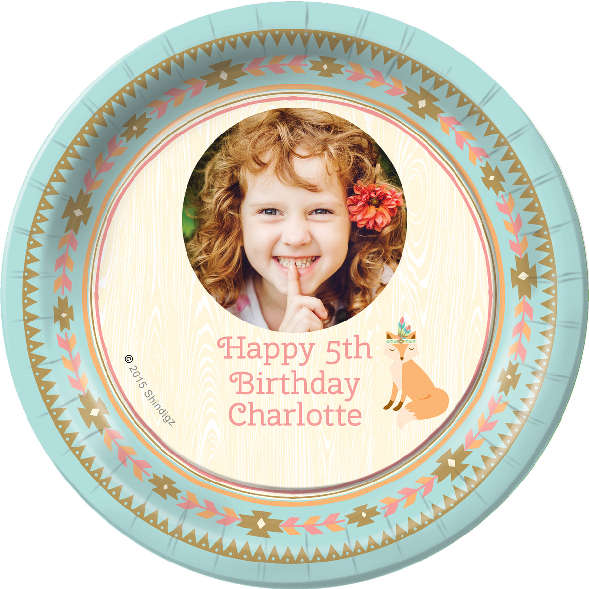 Sweetest Dreams Personalized Dessert Plates