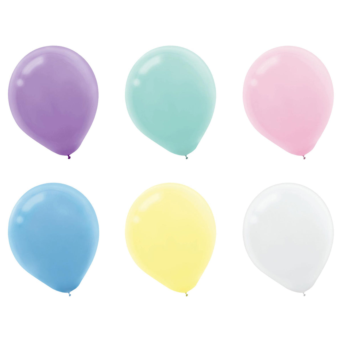 Assorted Pearl 5 inch Latex Balloons