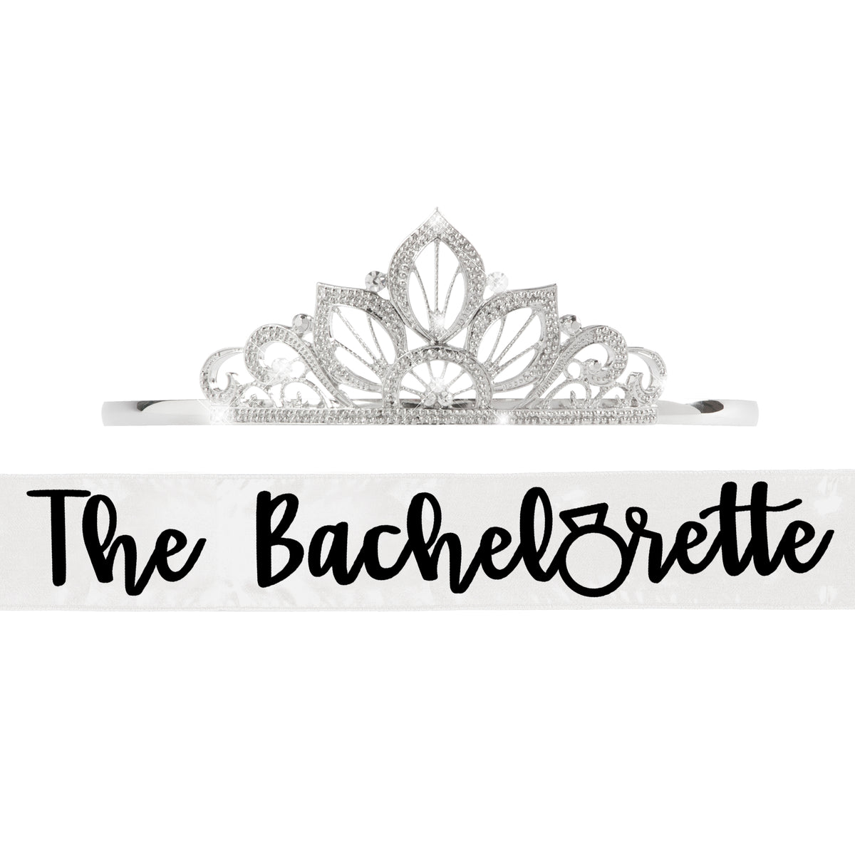 The Bachelorette Sash with Tiara